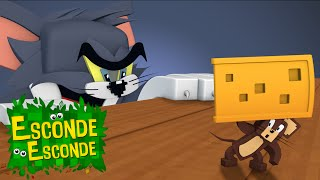 Minecraft: TOM E JERRY - O FILME! (Esconde-Esconde)