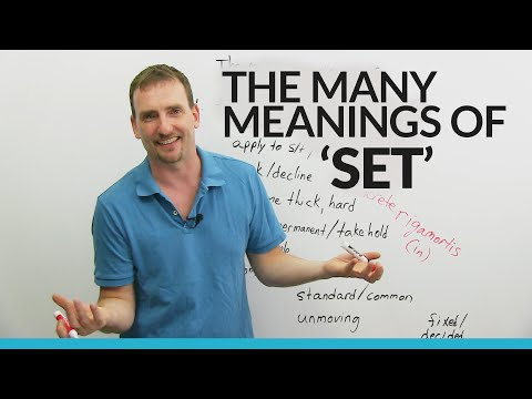 Learn Set Vocabulary Idioms and Phrasal Verbs
