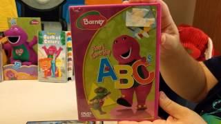 Kiana's Barney DVD Collection!