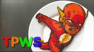 Pancake Art - The Flash / Barry Allen