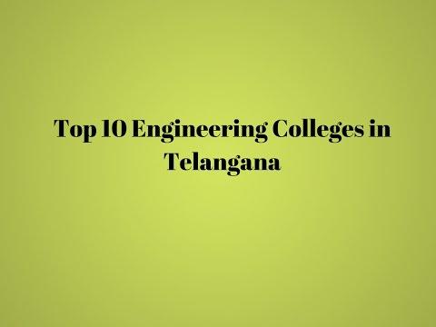 Top 10 Engineering Colleges in Telangana   TagMyCollege