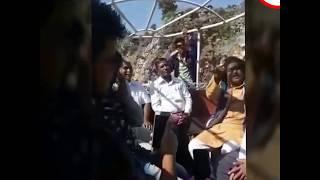 Osho Sannyasi Singing in Boat in Narmada River at Bhedaghat, Jabalpur, MP, India. #Marvel Rocks,
