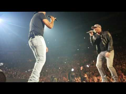 Luke Bryan & Cole Swindell *Rollercoaster* HFE Nashville 5617