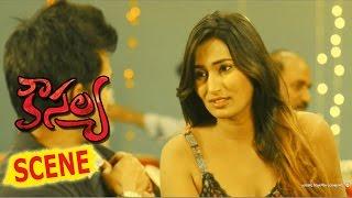 Swathi Naidu Flirting With Abhishek - Kousalya Movie Scenes