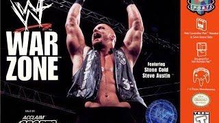 WWF War Zone N64 Playthrough - CHALLENGE MODE with STEVE AUSTIN