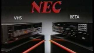 VHS -vs- Beta commercial 1984