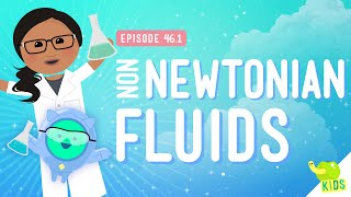 Oobleck and Non-Newtonian Fluids: Crash Course Kids #46.1
