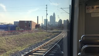 CATS Lynx Blue Line Full Trip From UNC Charlotte Main to 485-South Blvd