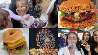 TRYING WEIRD CARNIVAL FOOD!