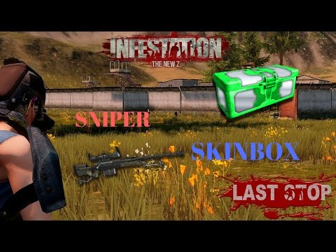 INFESTATION NEWZ LAST STOP FARMING(SNIPER AND SKINBOX)