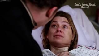 Grey's Anatomy 12x09 | meredith chorando & alex consola-a