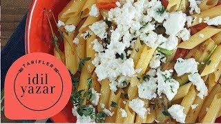 Izgara Sebzeli Makarna Tarifi *glutensiz - İdil Tatari - Yemek Tarifleri