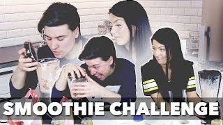 """Smoothie Challenge med Antonia """"Anty"""" 😂"""