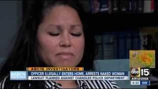 POLICE STATE - Scumbag Cop Illegally Enters House & Arrests Naked Woman In Front Of Her Daughter