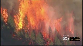 Fire Crews Battle Fires Near Oakmont Threatening To Merge