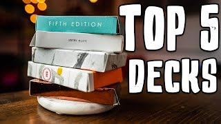 TOP 5 Playing Cards!