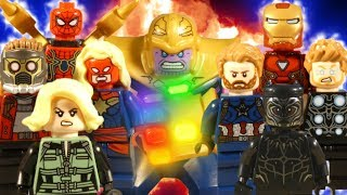 LEGO AVENGERS INFINITY WAR THE MOVIE - MARVEL STOP MOTION