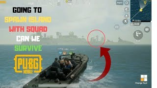 I Go To Spawn Island Again With Squad Can we Survive And Win Chicken Dinner in Pubg