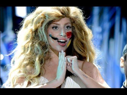 Lady Gaga - Applause (live) VMA's 2013 ᴴᴰ