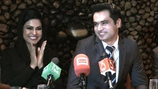 Veena Malik's husband sings a romantic song for her