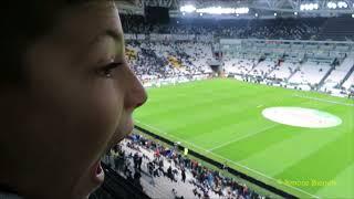 La prima volta allo Stadium di un piccolo grande cuore bianconero