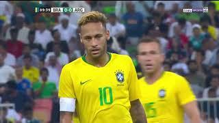 Brazil Vs Argentina Highlights friendly Match KSA.  Brazil 1 Argentina 0
