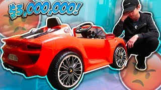 BUYING MY BROTHER A FAKE $3,000,000 DREAM CAR PRANK! (FREAKED OUT) | David Vlas