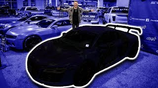 REVEAL OF MY NEW AUDI R8 WRAP!