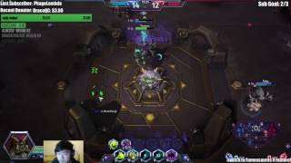 Guldan (Rain of Destruction) high grandmaster hero league gameplay video by Fan