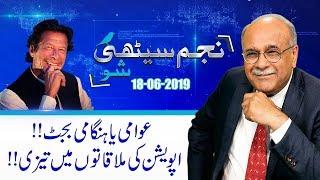 Oppositions Inside Plans On PTI Budget | Najam Sethi Show | 18 June 2019