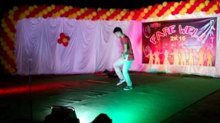 Sardar title song dance performence by nani