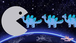 Learn Colors PacMan Bad Baby Dinosaurs for Children Colors ♦ Dinosaurs Animals
