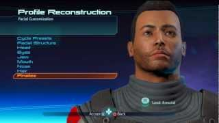 Mass Effect 1: How To Make A Normal Looking Shepard.