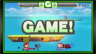 GEEK'D UP SMASH! #34 - Losers Semis - PKChris VS Stocktaker69