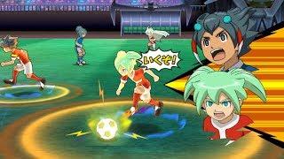 Inazuma Eleven GO Strikers 2013 Neo Tenma vs Inazuma Japan Wii (Dolphin Emulator)