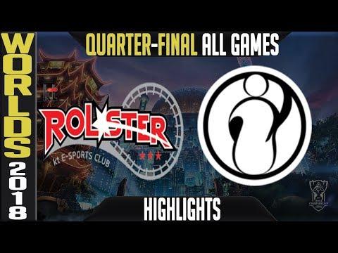 Xxx Mp4 KT Vs IG Highlights ALL GAMES Worlds 2018 Quarter Final KT Rolster Vs Invictus Gaming 3gp Sex