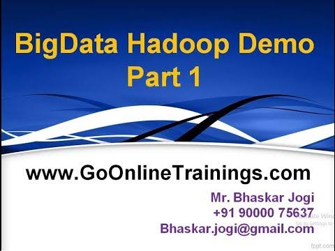 01 BigData Hadoop Demo