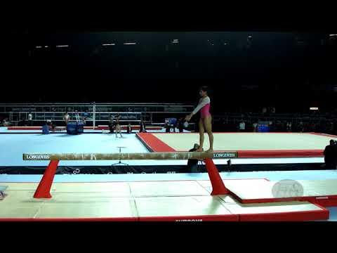 Xxx Mp4 BUDDA REDDY Aruna IND 2017 Artistic Worlds Montréal CAN Qualifications Balance Beam 3gp Sex
