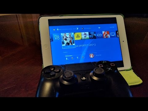 PS4 Remote Play on iOS, Works with iPhone,iPad, and iPod (R Play)