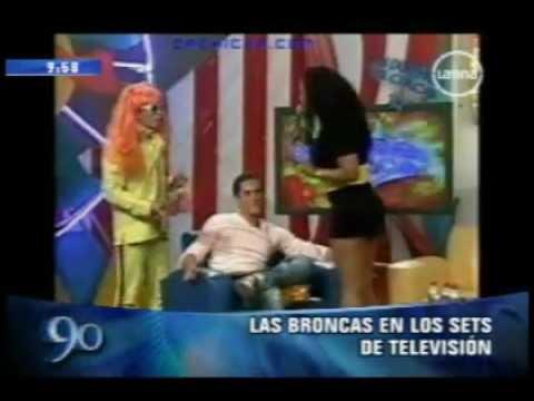 Peleas en television