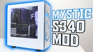 Modded NZXT S340 Gaming PC Time Lapse Build [GIVEAWAY!]