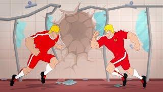 Supa Strikas - Season 4 Episode 43 - Roblok Wars - Soccer Adventure Series