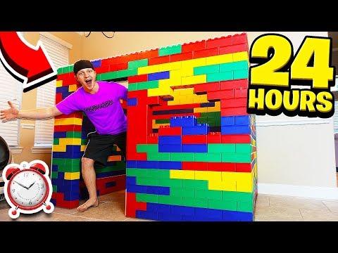 24 HOUR GIANT LEGO HOUSE CHALLENGE