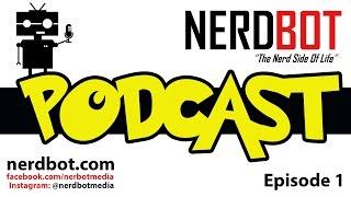 Nerdbot Podcast - Episode 1 Metal Gear, Cosplay and movies Zach hasn't seen