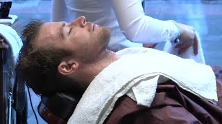 Relaxing Straight Razor Shave - Female Barber