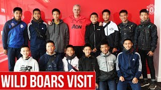 Wild Boars visit Manchester United