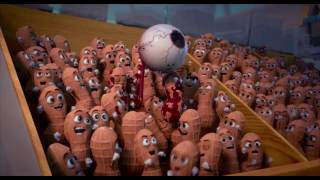 Sausage Party Gun and Douche Dies scene HD