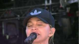 Madonna MDNA Tour - I Don't Give A - Soundcheck - Letzigrund Stadium, Zürich - 18/08/2012