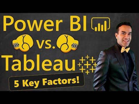 Power BI vs Tableau 🔥 5 Factors to Choose a Winner
