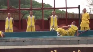 Kung Fu Fighting of Shaolin Monks